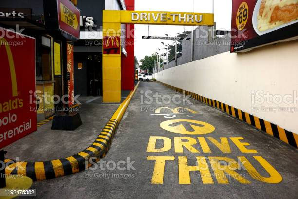 Drive thru lane of a popular fast food restaurant in antipolo city picture id1192475382?b=1&k=6&m=1192475382&s=612x612&h=y5dlvsbtdik4qp8 ype6 pnkibtzwnff3jhezf8mk i=