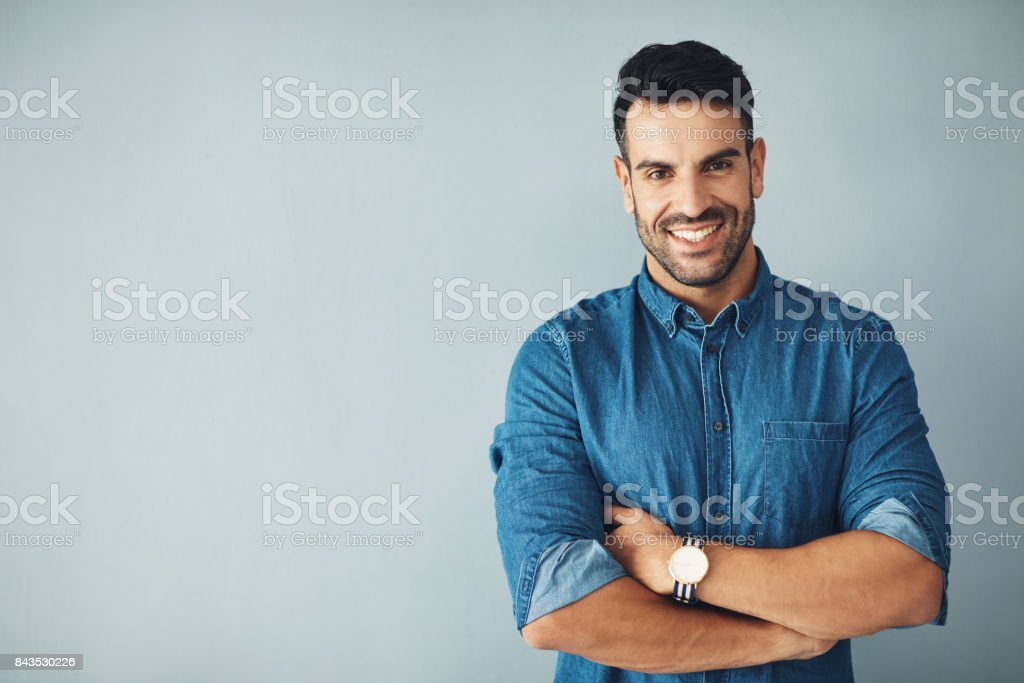 Driven by confidence stock photo