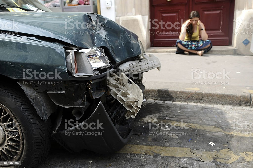 driven by drunk driver royalty-free stock photo