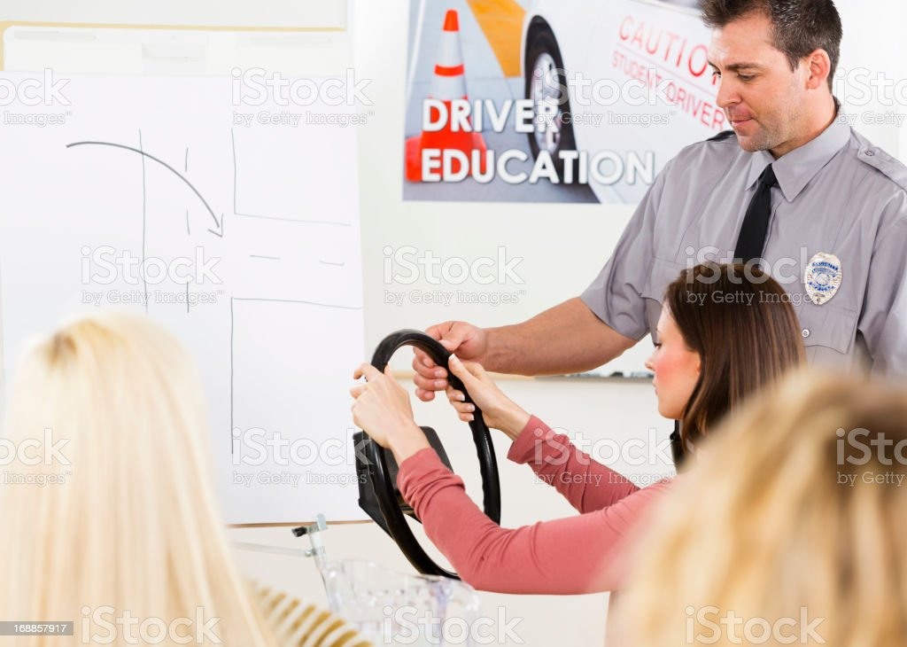 Driver Education stock photo