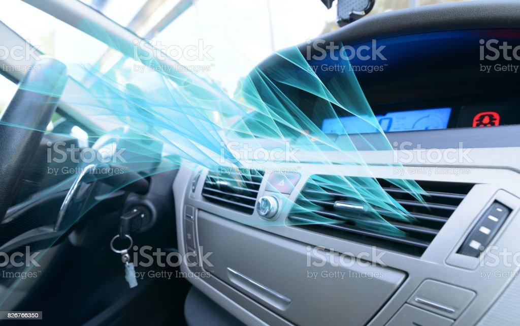 Fahrer-Hand tuning Belüftung Lüftungsgitter - Lizenzfrei Anpassen Stock-Foto