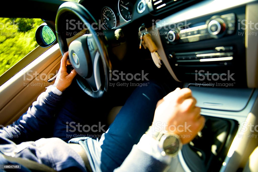 sport car driver – Foto