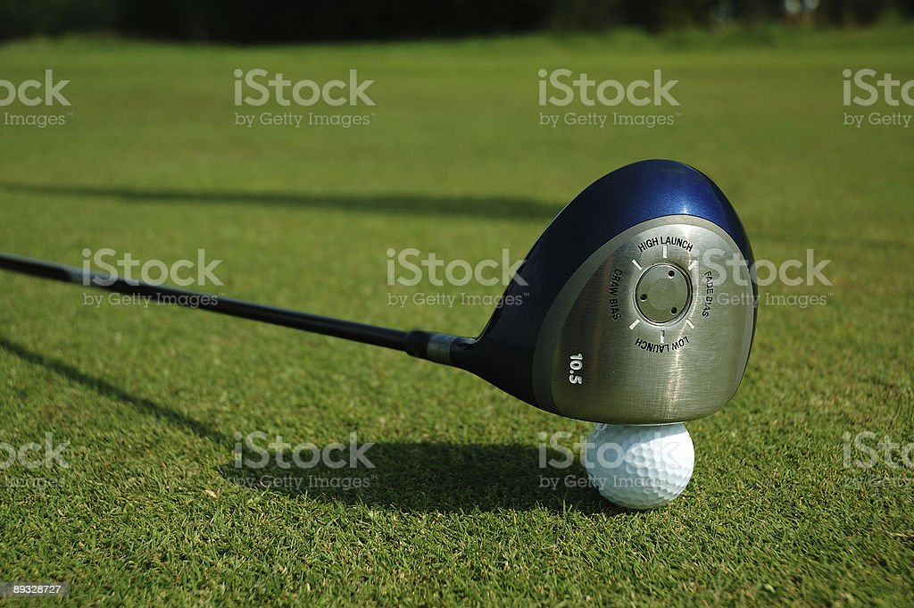 Driver on the ball royalty-free stock photo