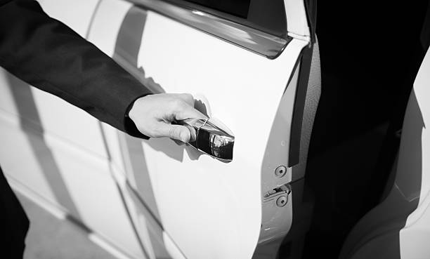 driver - limousine service stock photos and pictures