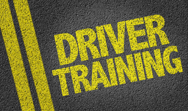Driver Training Driver Training road sign driving instructor stock pictures, royalty-free photos & images