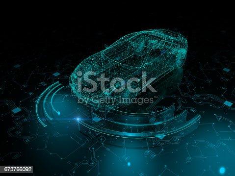 936364312istockphoto Driverless autopilot, autonomous vehicle 673766092