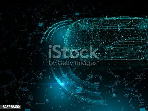 936364312istockphoto Driverless autopilot, autonomous vehicle 673768390