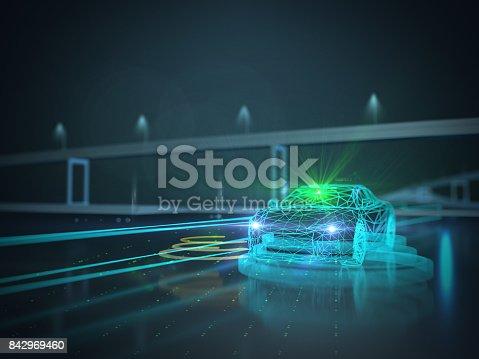 936364312 istock photo Driverless autopilot, autonomous vehicle 842969460
