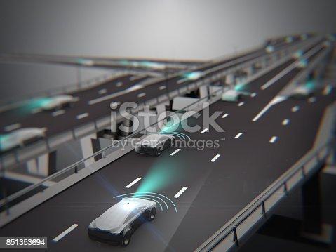 936364312istockphoto Driverless autopilot, autonomous vehicle 851353694