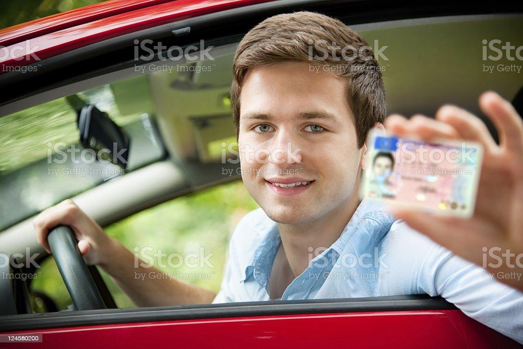 Licencia de conducir - foto de stock