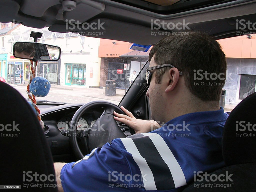 Drivers perception royalty-free stock photo