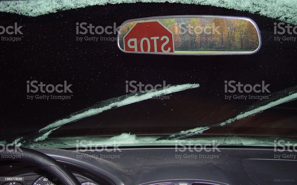 Drivers Thoughts royalty-free stock photo