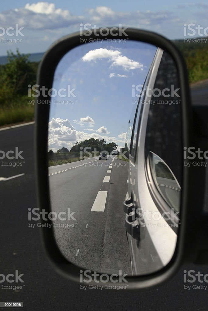 drivers view royalty-free stock photo