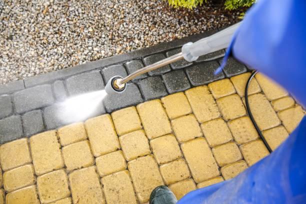 driveway bricks washing - potęga w naturze zdjęcia i obrazy z banku zdjęć
