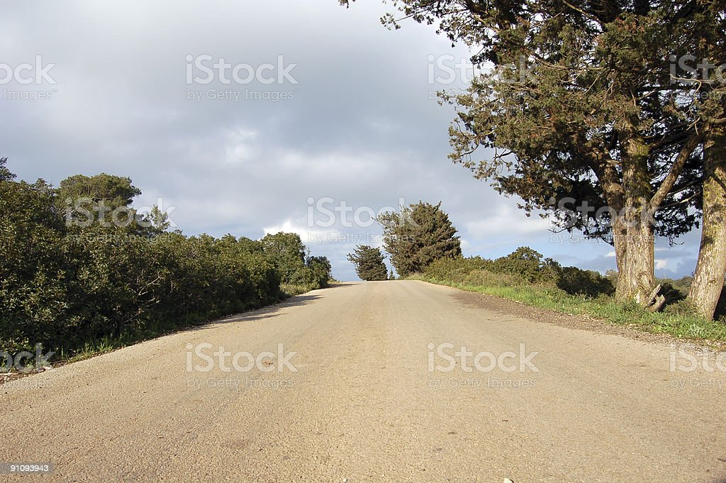 Driveway royalty-free stock photo