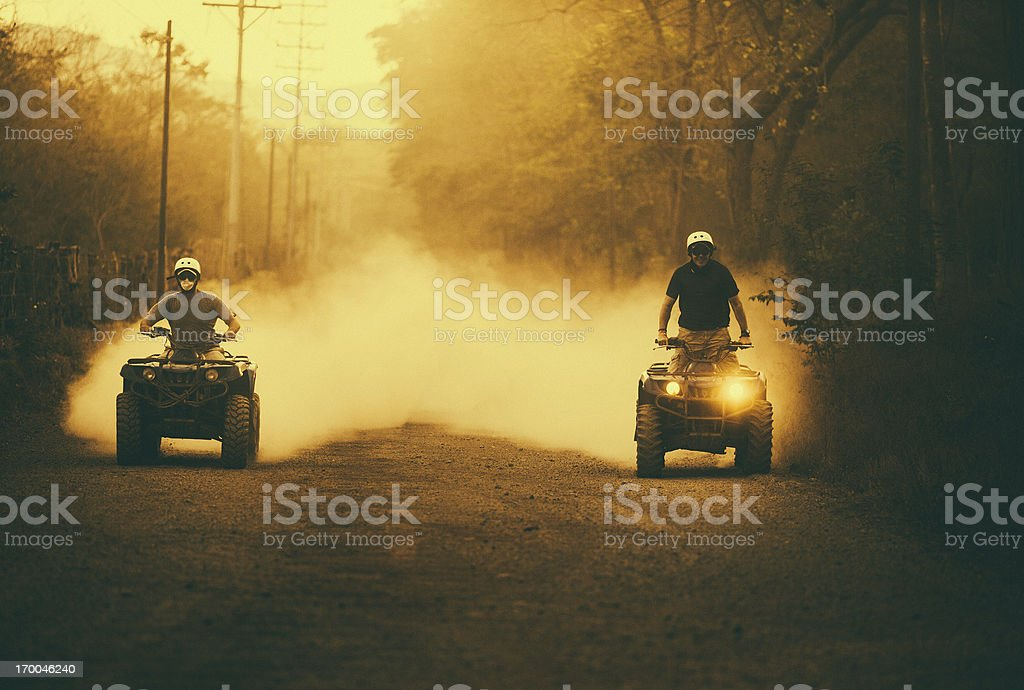driving 4x4 in costa rica royalty-free stock photo