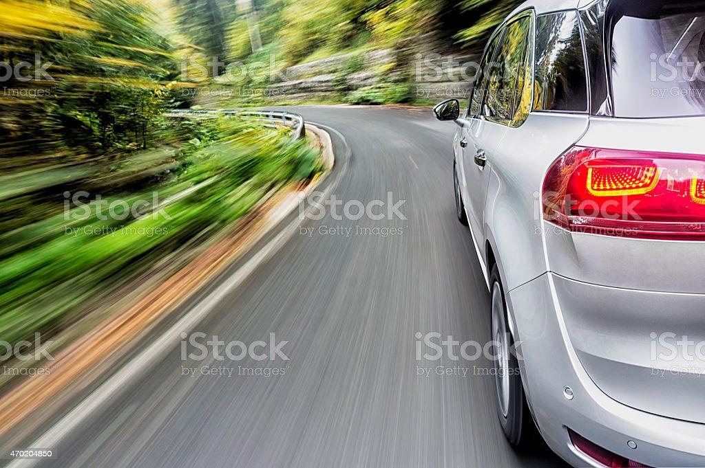 Conducir un coche - Foto de stock de 2015 libre de derechos