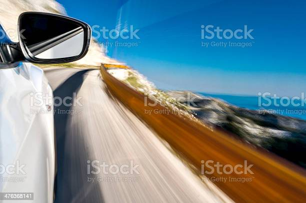 Photo of Driving a car uphill