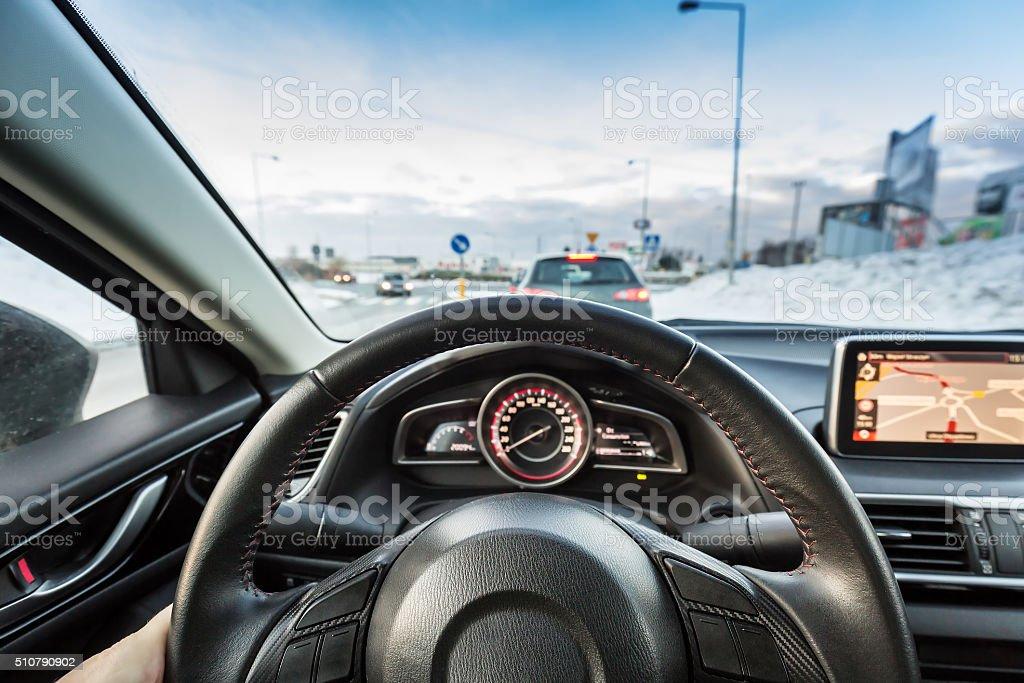Sport Auto fahren – Foto