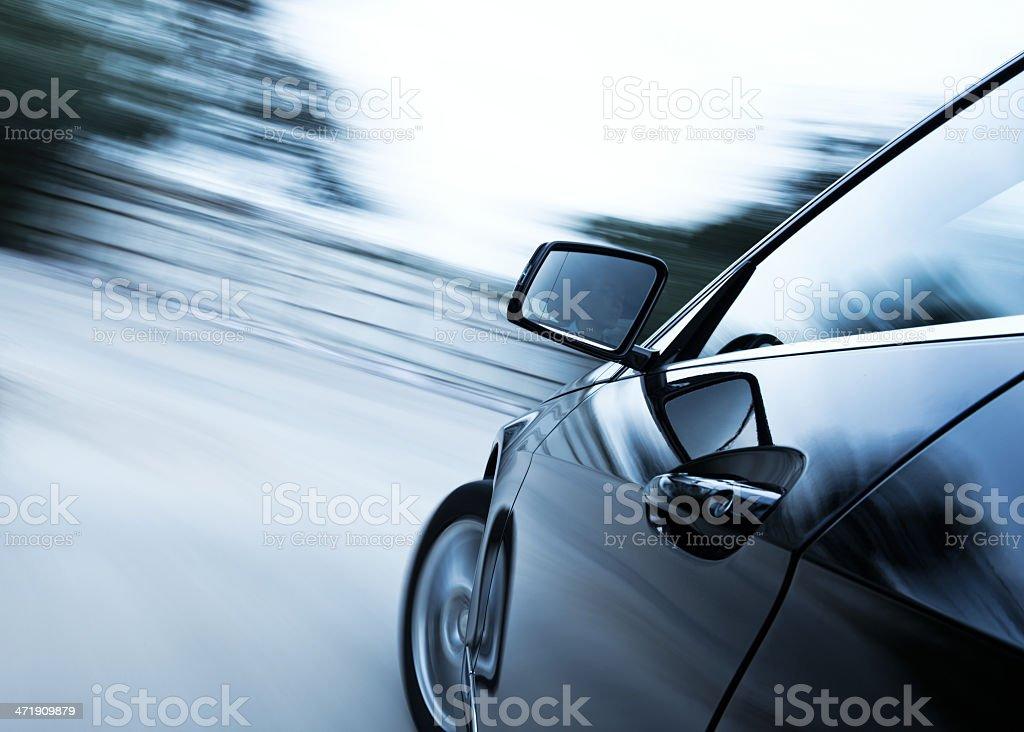 Fahren auf Ländliche Straße - Lizenzfrei Aktivitäten und Sport Stock-Foto