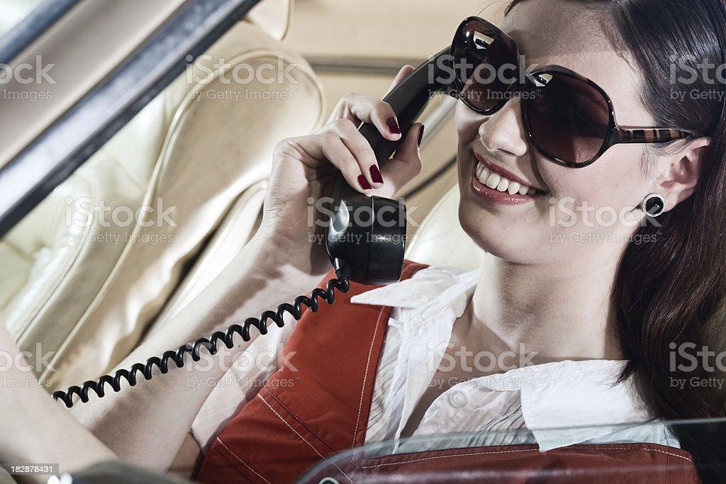 Fahren und sprechen – Foto