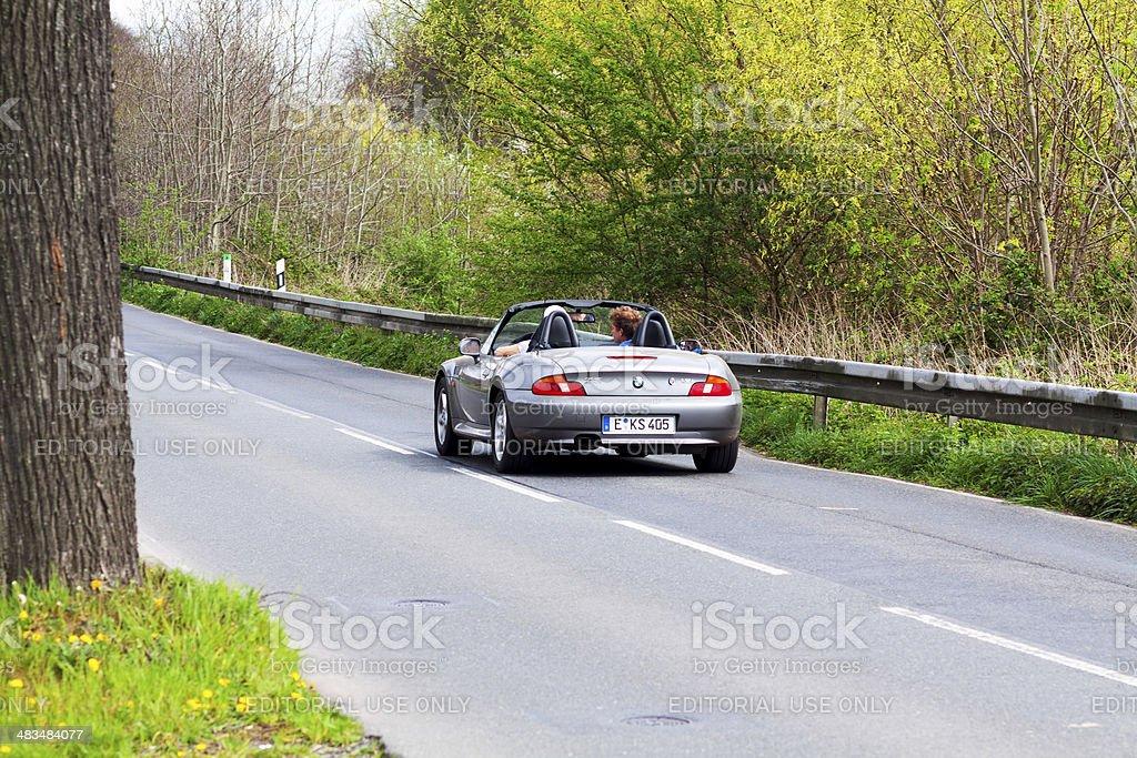 Driving BMW Z3 roadster – Foto