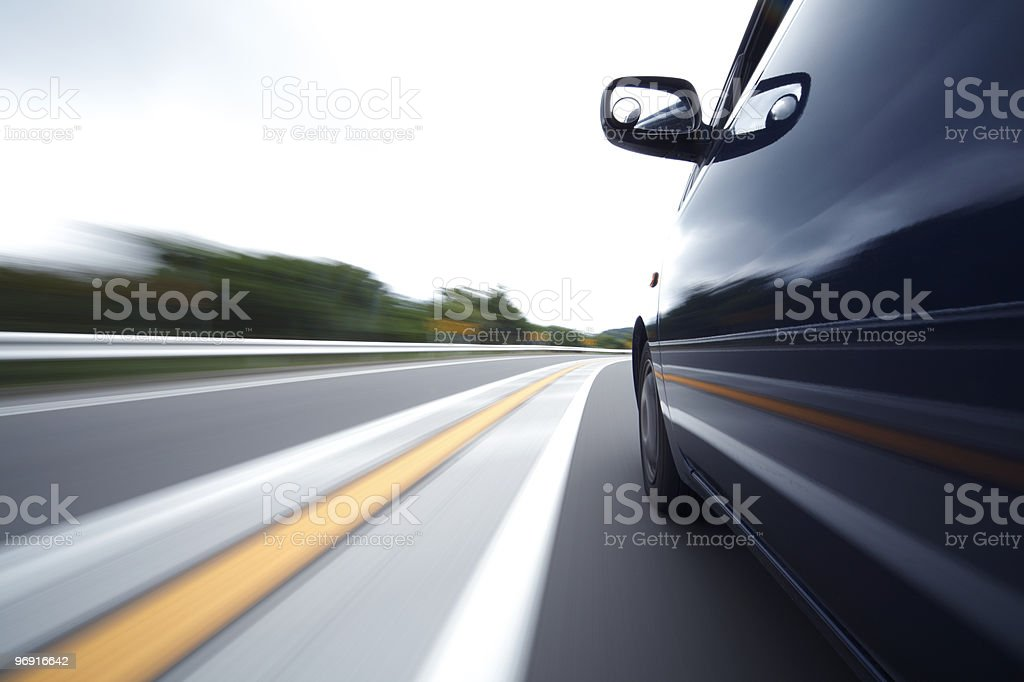 Driving Car royalty-free stock photo