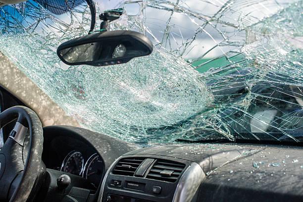 Fahren Zusammenstoß dokumentierte Versicherungen Konzept-Autounfall – Foto