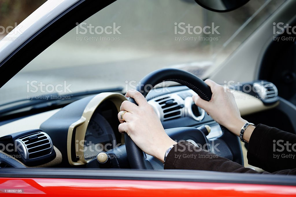 Driving. Color Image stock photo