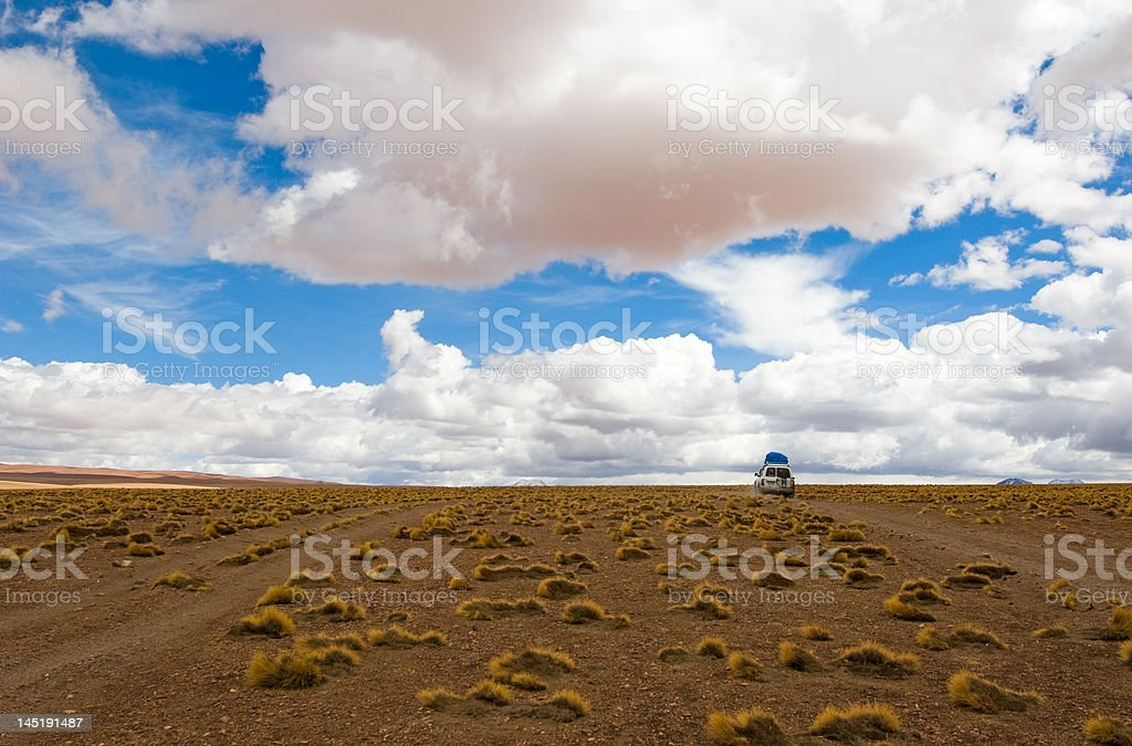 driving desert road royalty-free stock photo