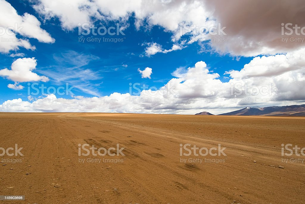 driving desert road royalty-free stock photo