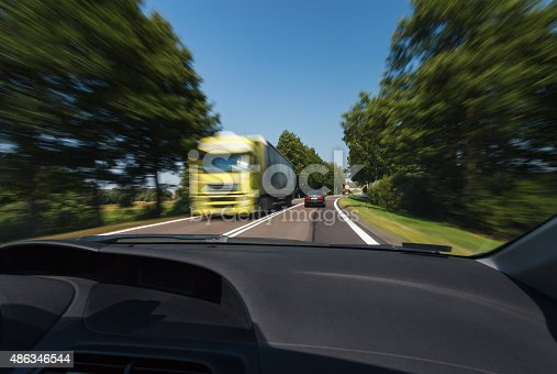 Driving During Good Weather Conditions Stock Photo & More Pictures of 2015