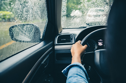 driving in rainy season