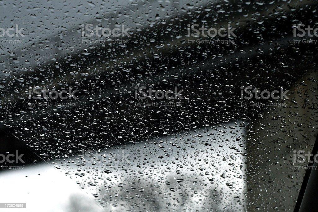 driving in the rain stock photo