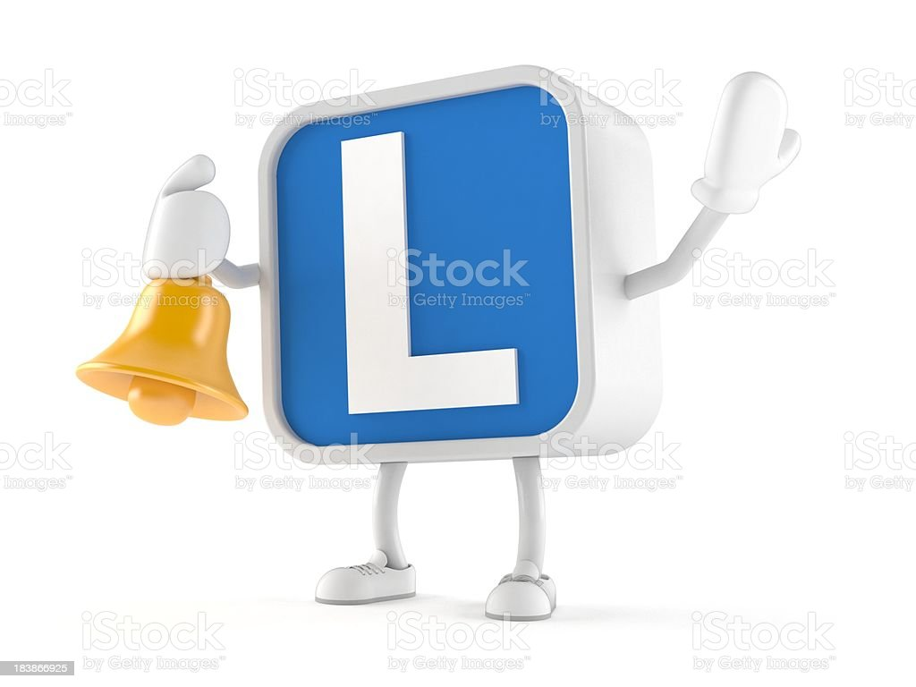 Driving lessons royalty-free stock photo