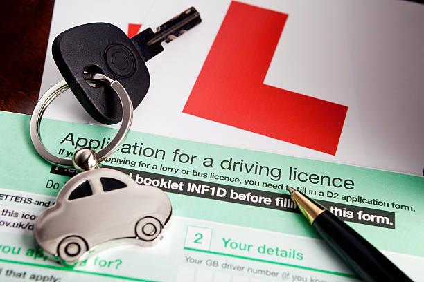 UK Führerschein Anwendung – Foto