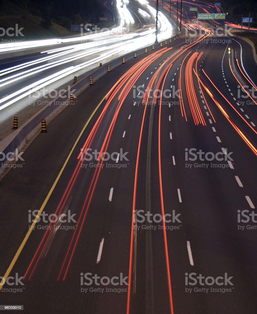 Driving Lights stock photo