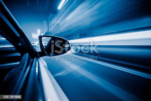 Driving, City, Traffic, Highway, Street