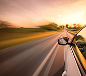 istock Driving on the road 1207109312