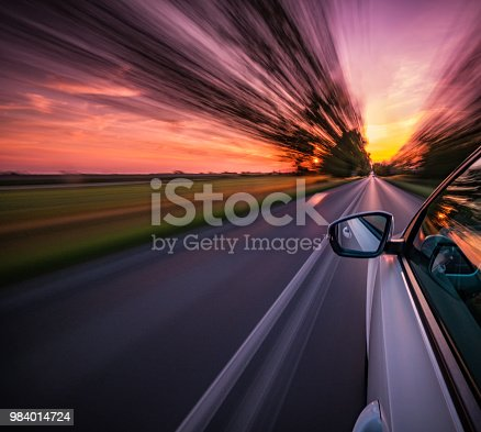 Driving on a motorway