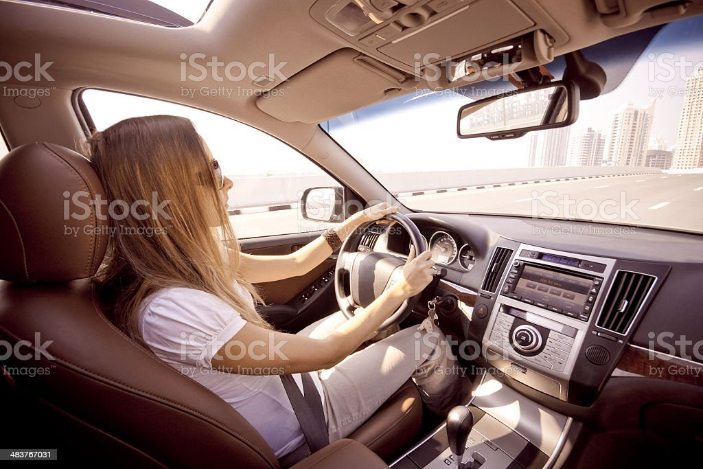 Driving - Lizenzfrei Auto Stock-Foto
