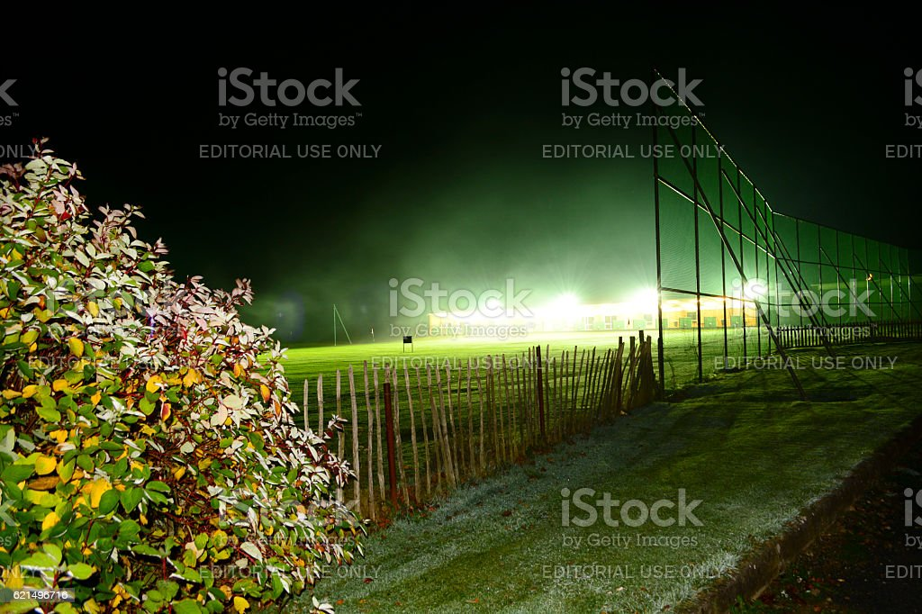Driving Range at Night photo libre de droits