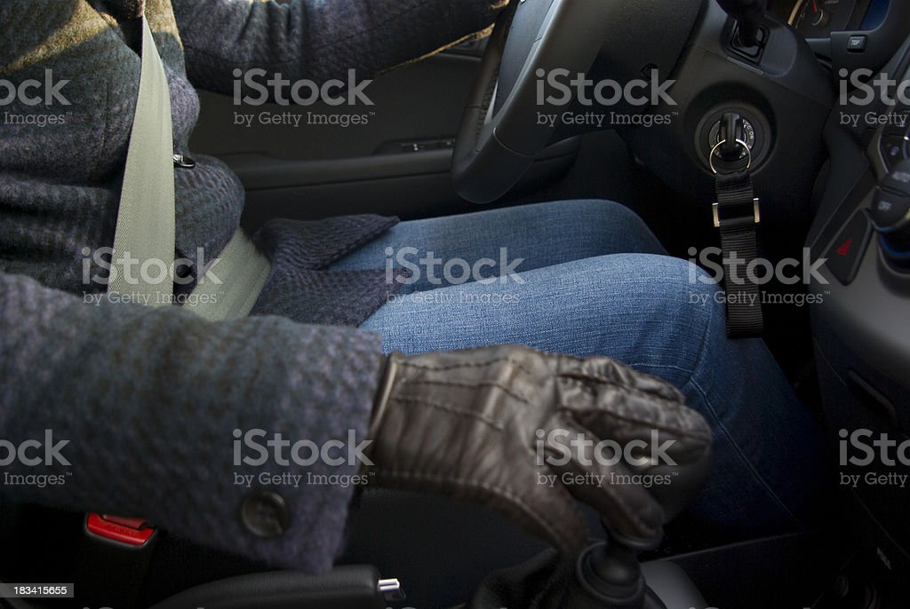 driving safe royalty-free stock photo