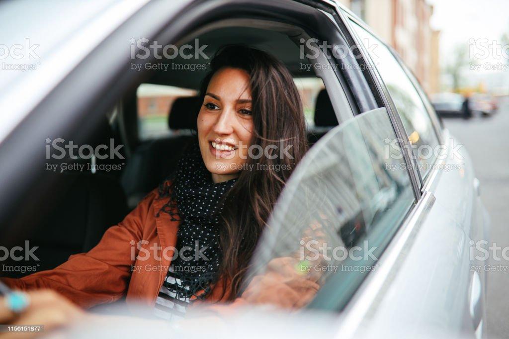 rijden door Berlijn - Royalty-free 30-39 jaar Stockfoto
