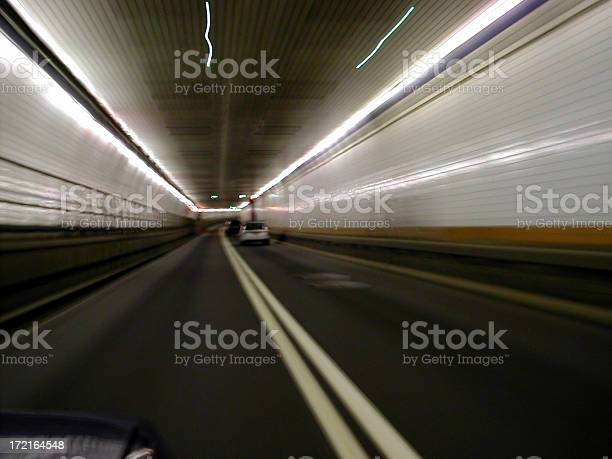 driving through holland tunnel 02