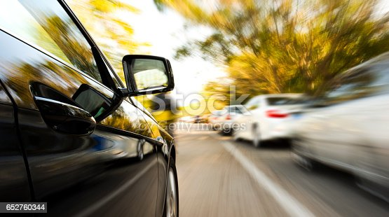 688980174istockphoto driving through the city 652760344
