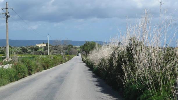 驅車到諾托, 西西里島, 義大利 - cassata 個照片及圖片檔