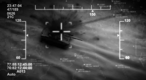 Drone Attack stock photo