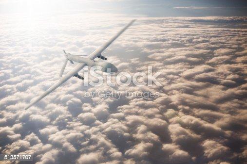 533534481 istock photo UAV Drone Flying 513571707