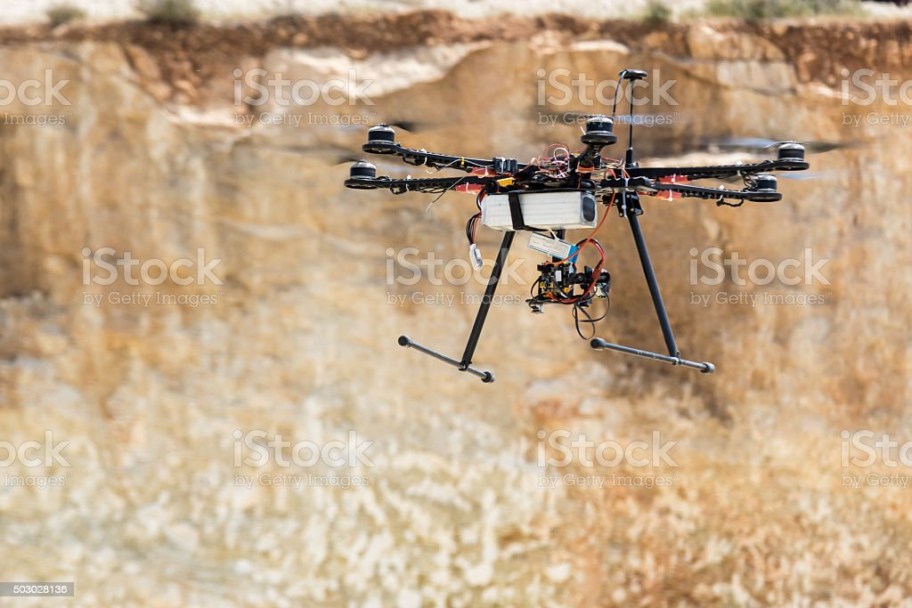 Hintergrundgeräusche-multicopter – Foto